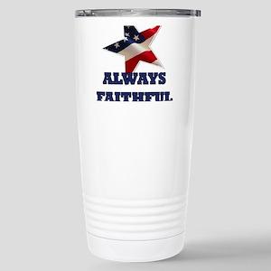 Always Faithful Stainless Steel Travel Mug