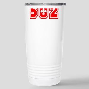 502 red Stainless Steel Travel Mug