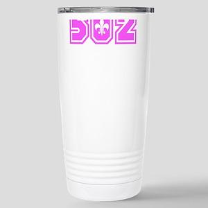 502 Pink Stainless Steel Travel Mug