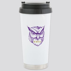 Ministry of Owls Stainless Steel Travel Mug