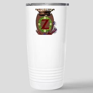Z Crest Stainless Steel Travel Mug