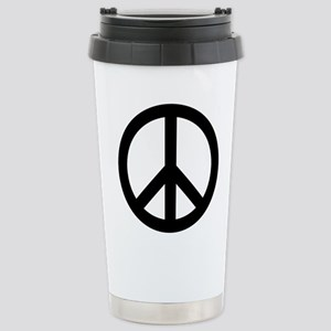 Peace Out Stainless Steel Travel Mug