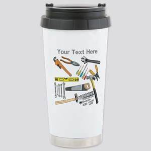 Tools with Gray Text. Mugs