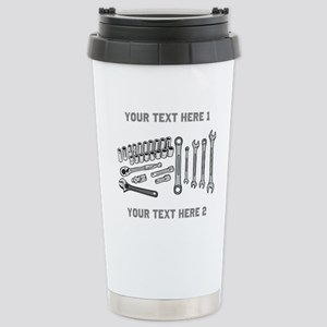 Wrenches with Text. Mugs