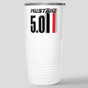 Mustang 5.0 BWR Stainless Steel Travel Mug