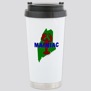 Mainiac Stainless Steel Travel Mug