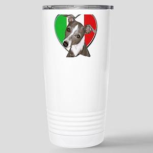 Italian Greyhound art Stainless Steel Travel Mug