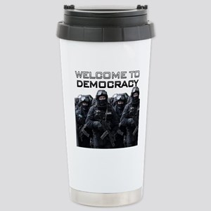 Welcome To Democracy Stainless Steel Travel Mug