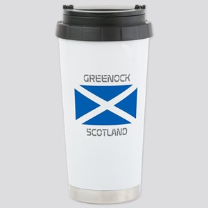 Greenock Scotland Stainless Steel Travel Mug
