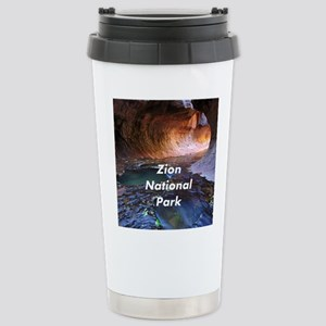 Zion National Park Stainless Steel Travel Mug