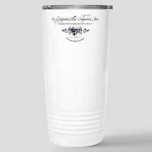 Addams Family Creed Stainless Steel Travel Mug