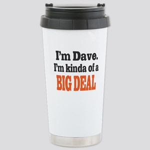 Big Deal (Orange) Stainless Steel Travel Mug