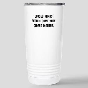 Closed Minds Travel Mug