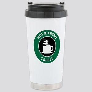 HOT AND FRESH COFFEE Travel Mug