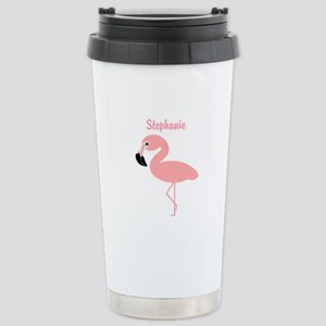 Personalized Flamingo Small Mugs