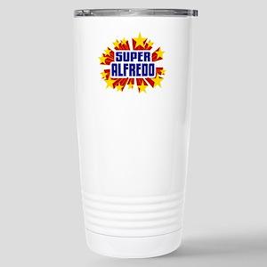 Alfredo the Super Hero Travel Mug