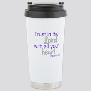 Trust in the Lord Travel Mug