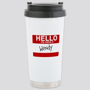 Hello My Name Is Wendy Mugs