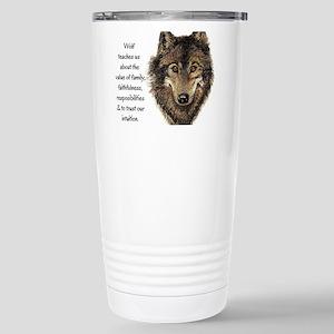 Wolf Totem Animal Guide Watercolor Nature Art Trav