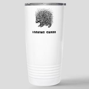 Sharp Porcupine Travel Mug