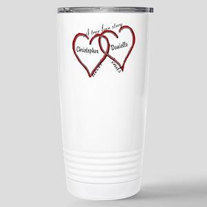 A true love story: personalize Travel Mug