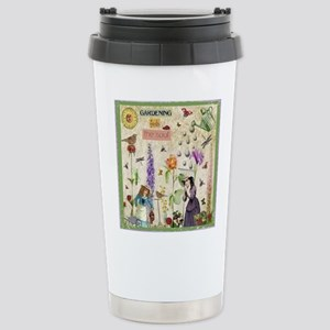 Gardening Stainless Steel Travel Mug