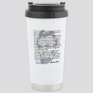 Gettysburg Address Stainless Steel Travel Mug