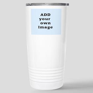 Add Image Stainless Steel Travel Mug