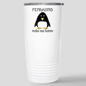 Penguin Happy Stainless Steel Travel Mug