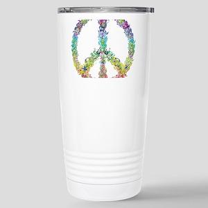 Peace of Flowers Travel Mug