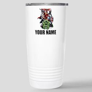 Avengers Assemble Perso Stainless Steel Travel Mug