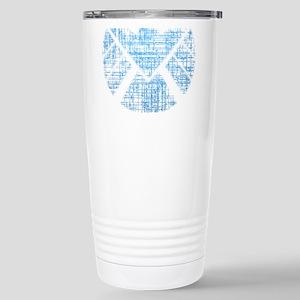 SHIELD Logo Alien Writi Stainless Steel Travel Mug