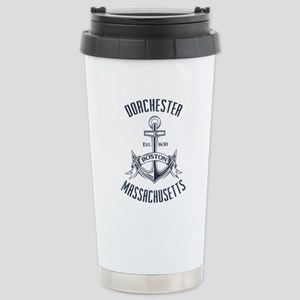 Dorchester, Boston MA Stainless Steel Travel Mug