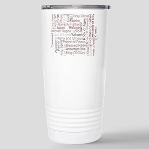 Names of God Word Art Travel Mug
