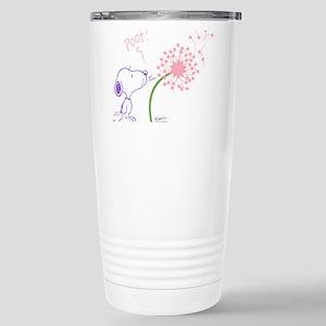 Snoopy Dandelion Stainless Steel Travel Mug