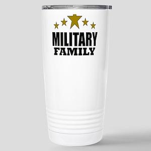 Military Family Stainless Steel Travel Mug