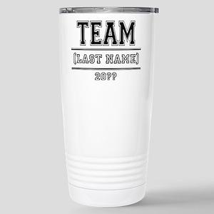 Team Family Stainless Steel Travel Mug
