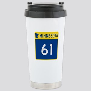 Trunk Highway 61, Minne Stainless Steel Travel Mug