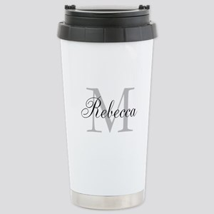 Monogram Initial And Name Personalize It! Travel M