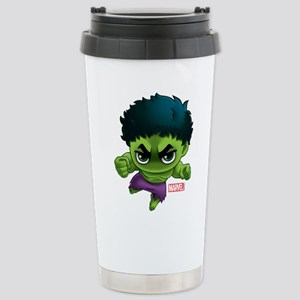 Hulk Stylized Stainless Steel Travel Mug