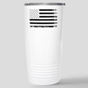 Vintage USA Flag Travel Mug