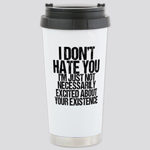 Hate You Stainless Steel Travel Mug
