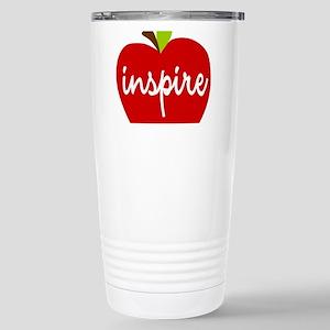 Inspire Apple Stainless Steel Travel Mug