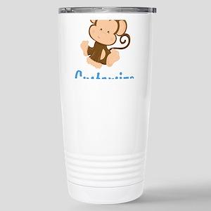 Custom Monkey Stainless Steel Travel Mug