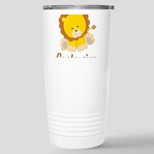 Custom Baby Lion Stainless Steel Travel Mug