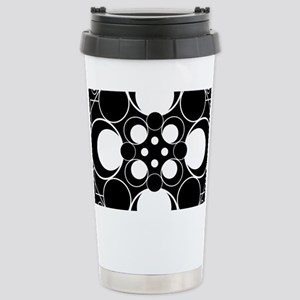 Art Deco Dots Stainless Steel Travel Mug