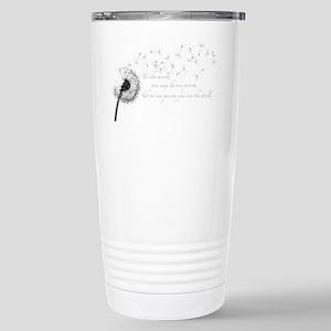 Dandelion Inspiration Stainless Steel Travel Mug