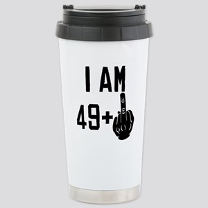 Middle Finger 50th Birthday Mugs