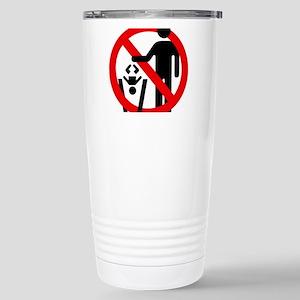 No Trashing Babies Stainless Steel Travel Mug