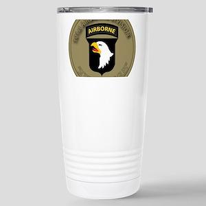 101st airborne screamin Stainless Steel Travel Mug